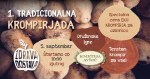 Tradicionalna Krompirjada - Z Zdravo Dostavo na Kmetiji Avšič